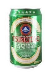 青島ビール缶(330ml)